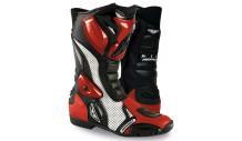 boty Prexport SONIC červené
