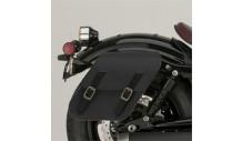 Boční kožené brašny XV950-černé
