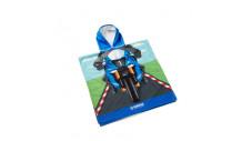 Ručníkové pončo pro děti inspirované závodníky týmu Yamaha Racing