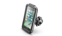 Voděodolné pouzdro Interphone pro Apple iPhone SE (2020)/8/7/6/6S, úchyt na řídítka, černé