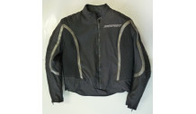 dámská textilní bunda VENUS vel. 42 černá