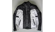 dámská textilní bunda ELECTRA vel. 38/S bílo černá