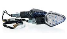 LED Blikače 3031 carbon 2ks