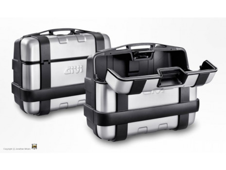 Kufry GIVI TRK 33 hliníkové víko (Monokey)