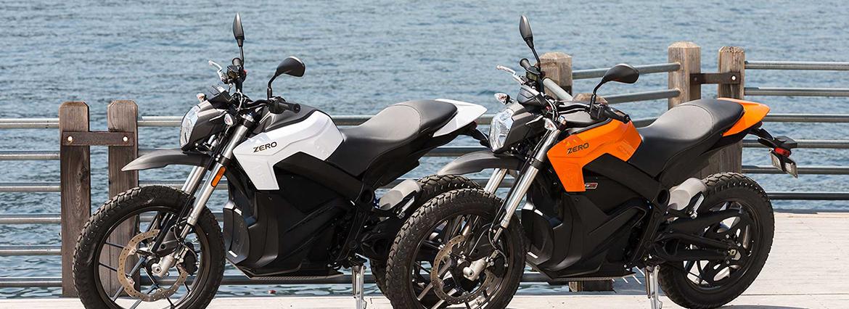 elektrické motocykly zero