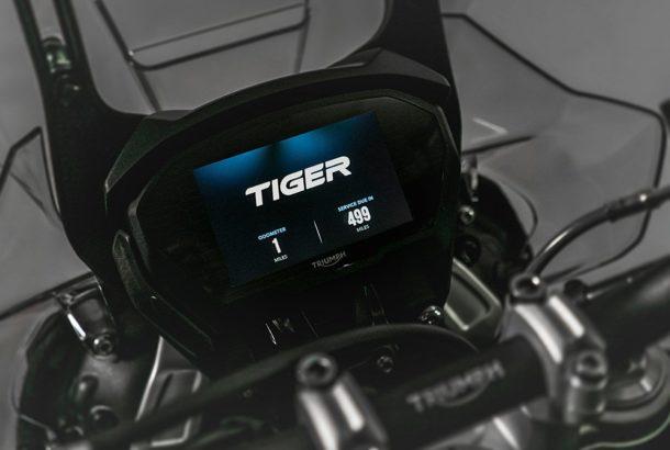 Výbava nad rámec modelu Tiger 800 XCX
